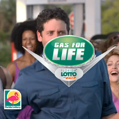 Florida Lottery - Gas for life